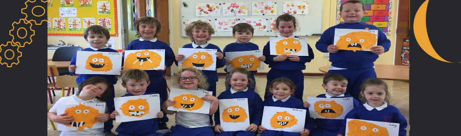 Creative Junior Infants at Halloween