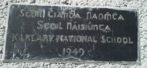 Kilkeary School Plaque, 1940